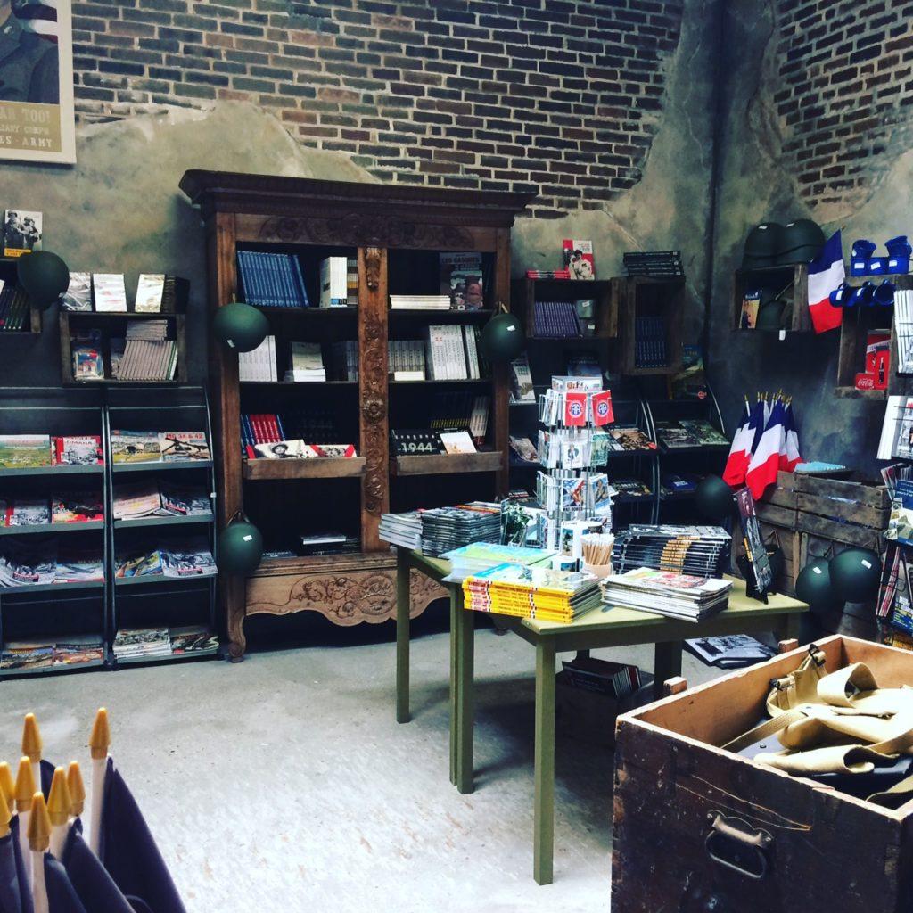 Normandie particulier oorlogsmuseum winkel