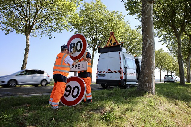 nieuwe maximum snelheid in Frankrijk
