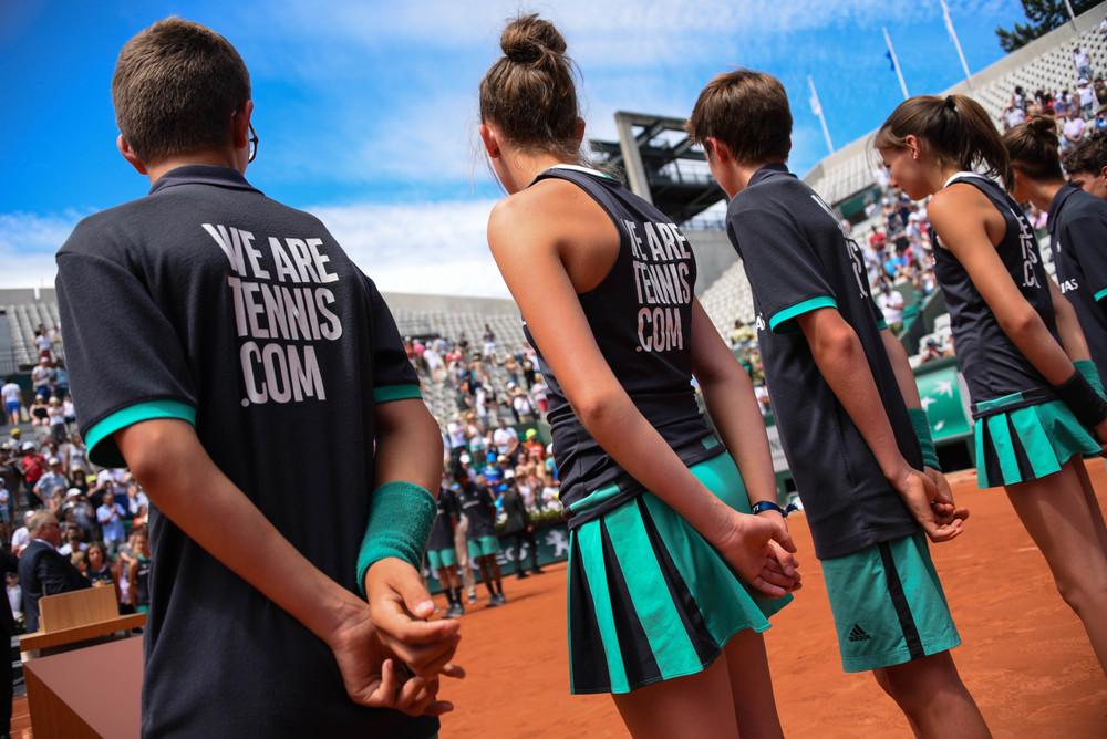 Ballenjongens Roland Garros