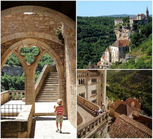 Ruim 900 jaar oude dorpje Rocamadour