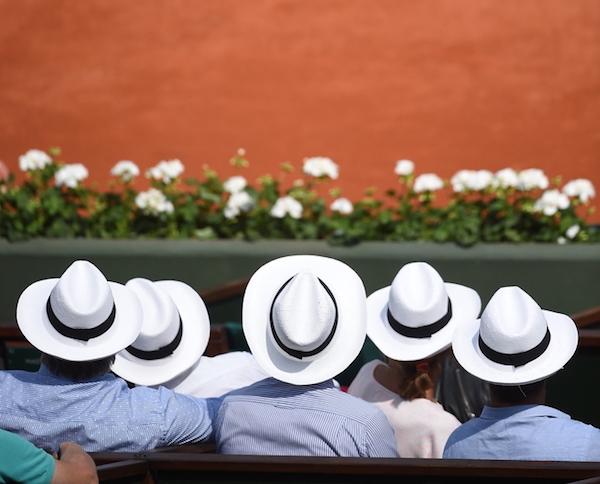 Roland Garros panama hoeden