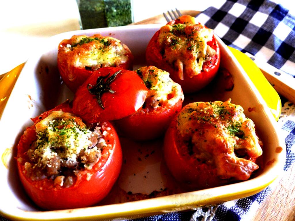 recept gevulde tomaten op z'n Frans