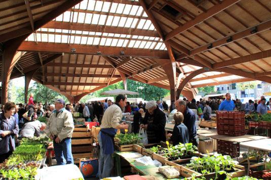 Markt in Brive-la-Gaillarde (Corrèze)