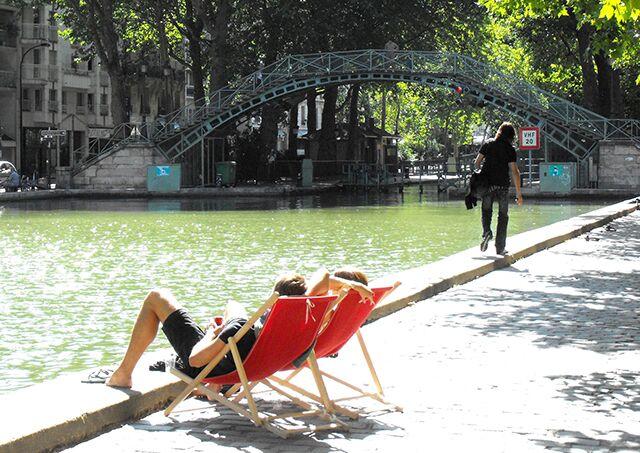 Canal Saint Martin Parijs leuke wijk