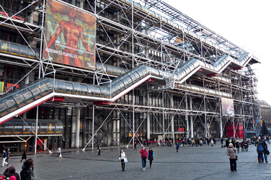 Museum Centre Pompidou in Parijs