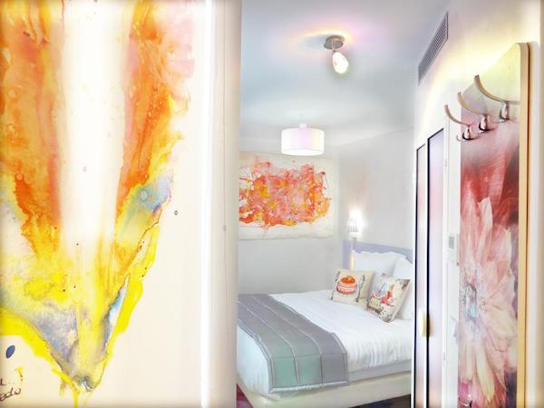 Kamer in hotel Le Pavillon