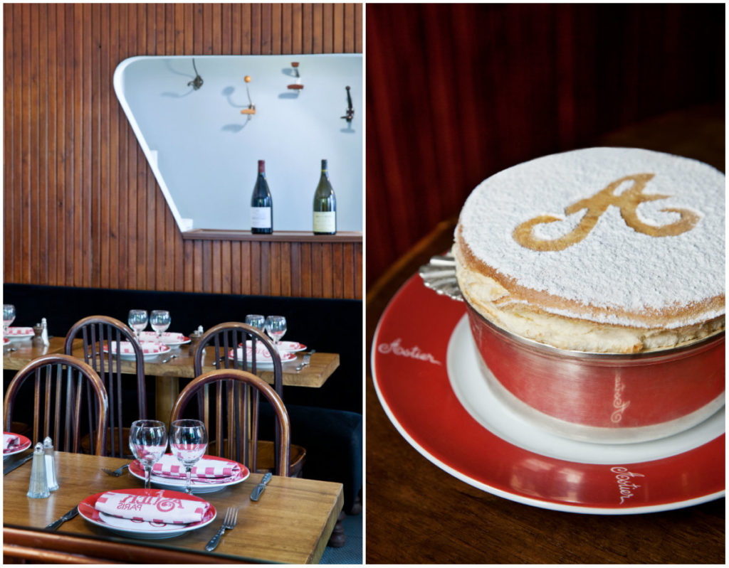 bistro Parijs soufflé dessert Grand Marnier