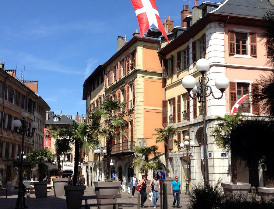 Stadt Chambéry Place Saint Léger