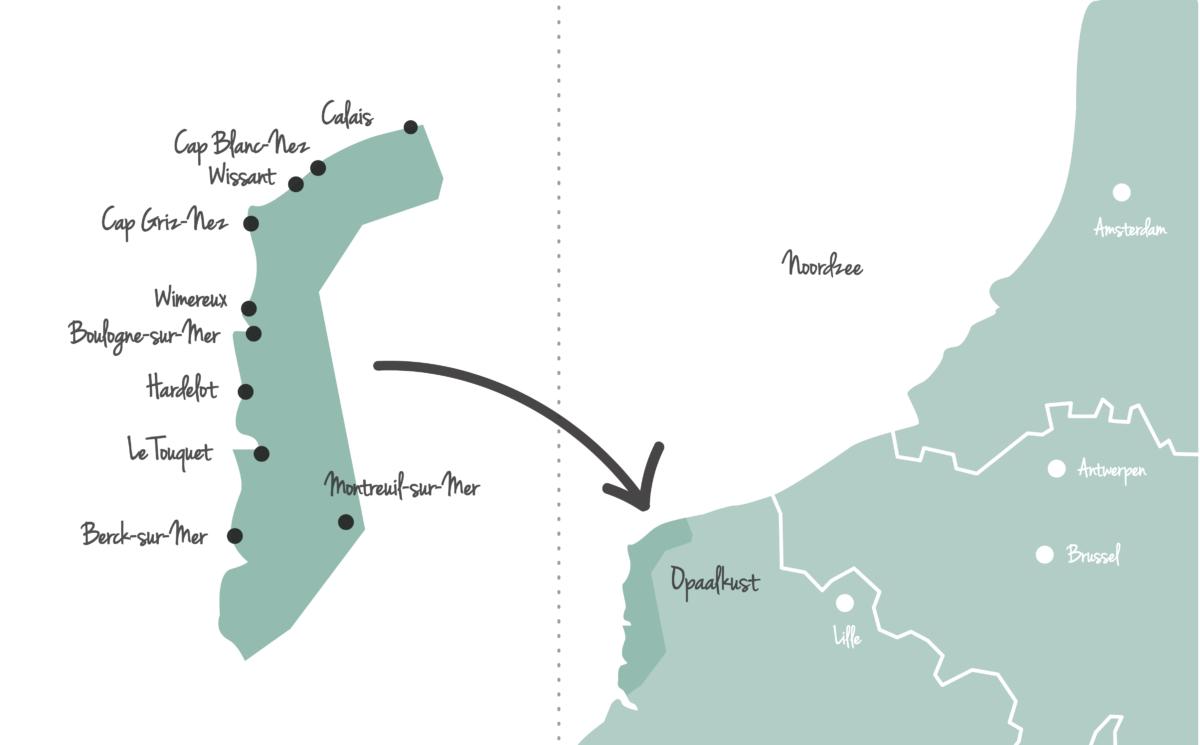 Opaalkust Frankrijk