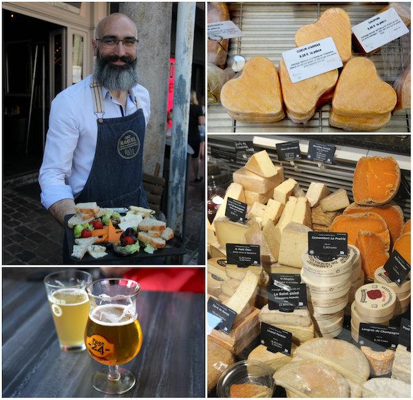 Lokale kazen en bier in Arras