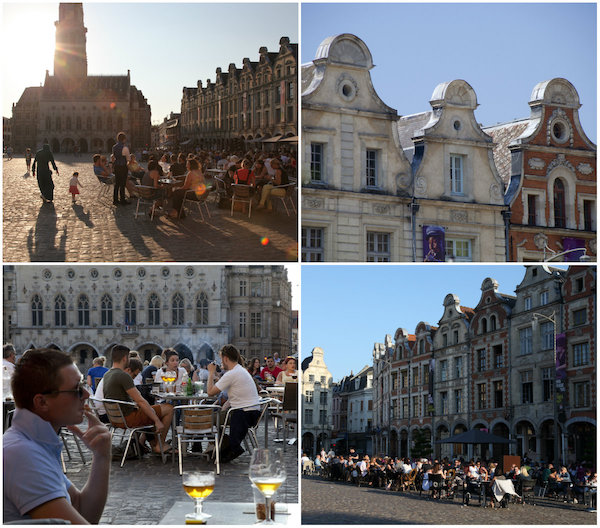 Grand-Place en Place des Héros in Arras