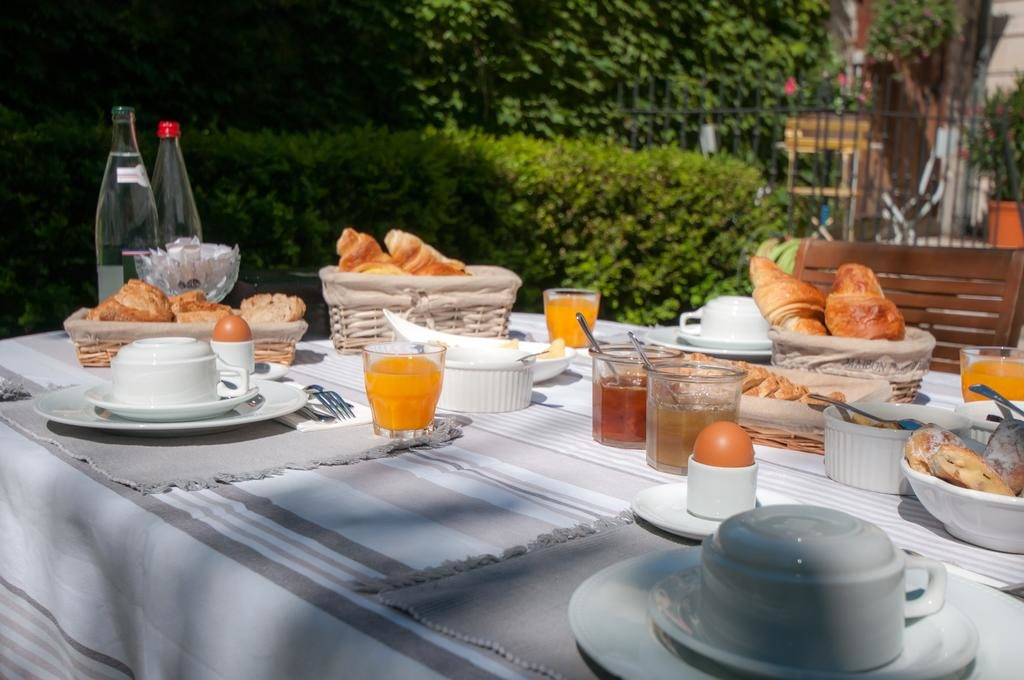 Ontbijt bij B&B Demeure des Sacres