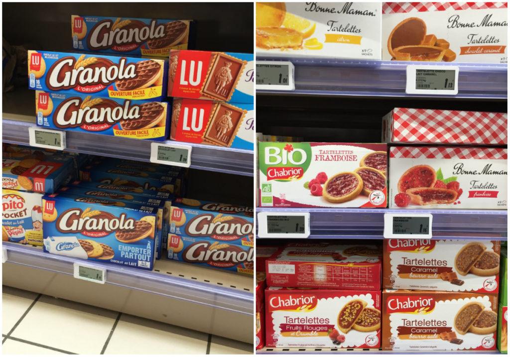 boodschappen Franse supermarkt Bonne Maman