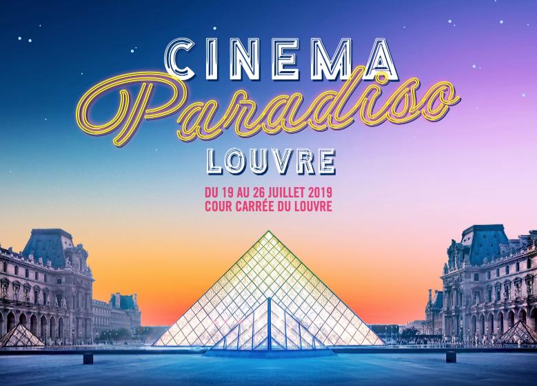 openluchtbioscoop Louvre