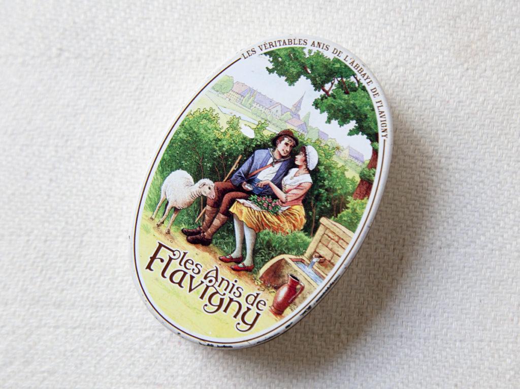 Frans snoepgoed anis de Flavigny