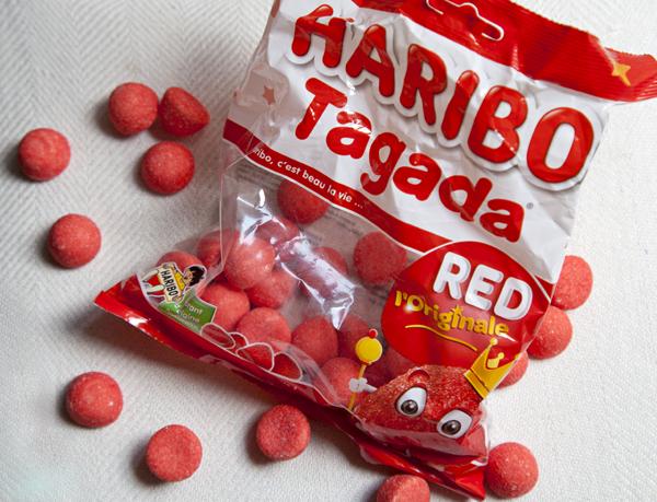 Frans snoepgoed Tagada aarbeien Haribo