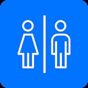 ou sont les toilettes app waar is de wc's