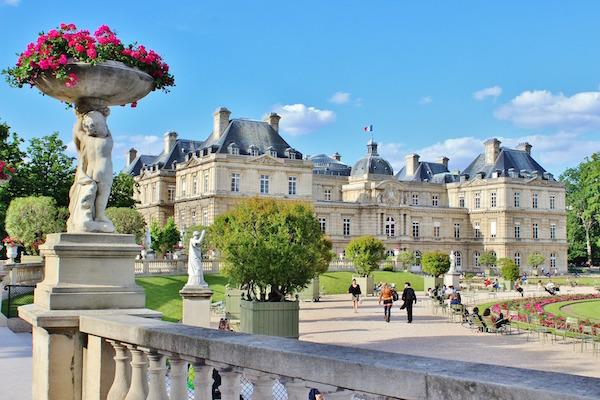 Jardin du Luxembourg in Parijs