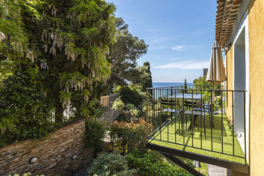 Appartementen Le Bailli aan het strand Golf Saint Tropez