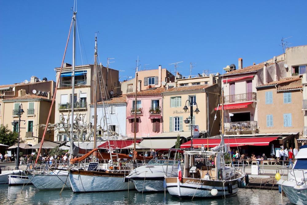Cassis, kustdorpje in de Provence