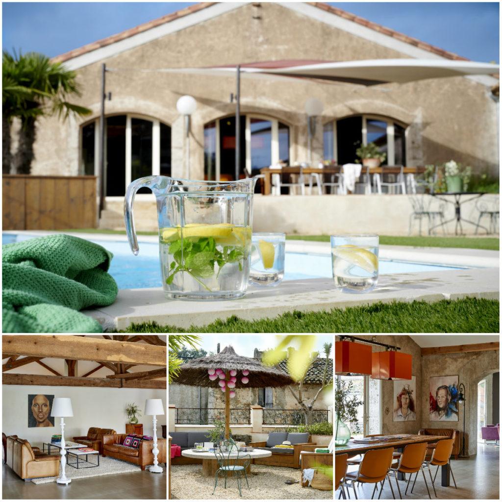 Loft vakantiehuis Domaine des Agnelles Zuid Frankrijk