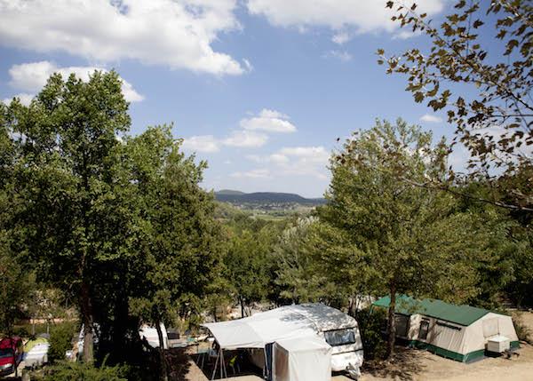 Vallee Verte groene familiecamping Gard