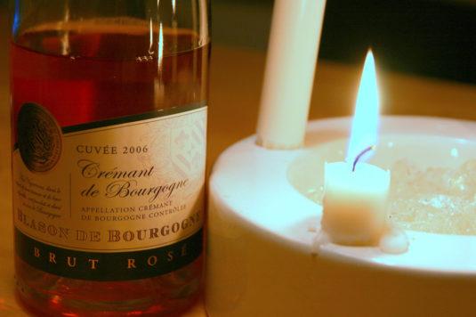 Fles crémant de Bourgogne