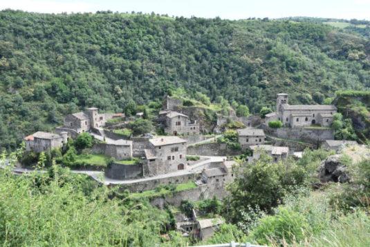 Malleval, dorpje in Le Pilat