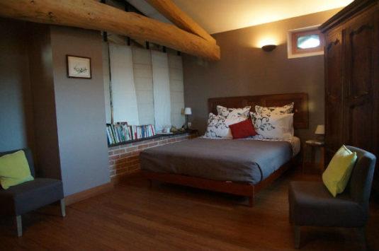 Slaapkamer La Jasserie in Le Grand Noé