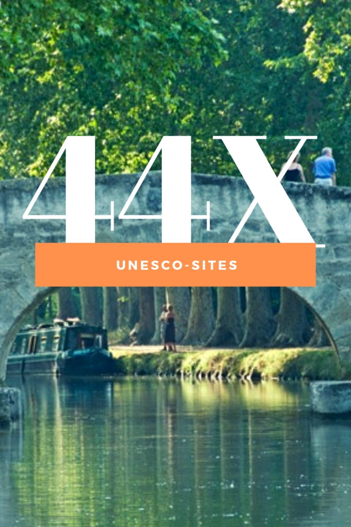 44 Unesco sites