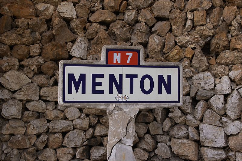 Menton Route nationale 7