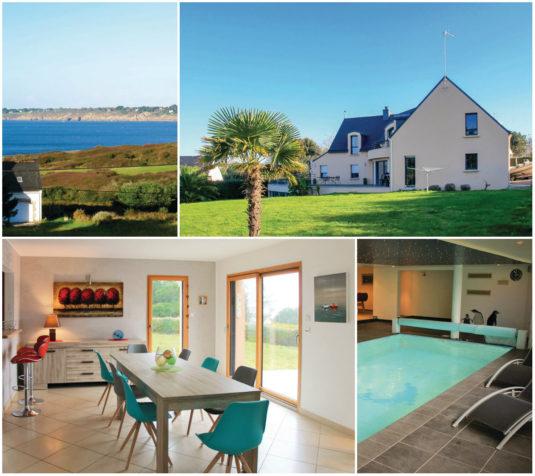 Vakantiehuis in Moelan sur Mer Finistere Bretagne