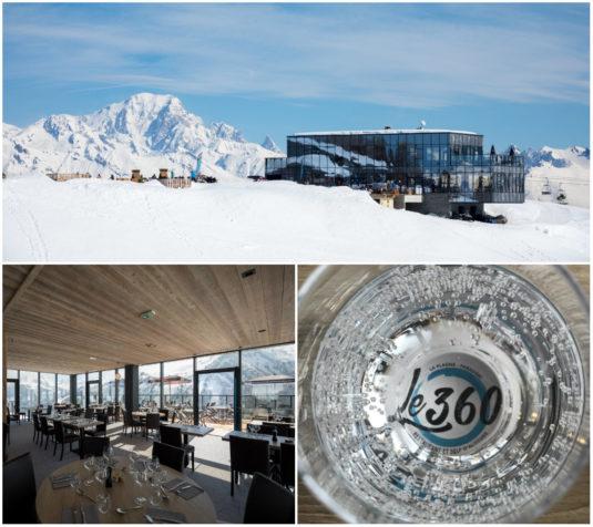 Restaurant 360 La Plagne Montalbert