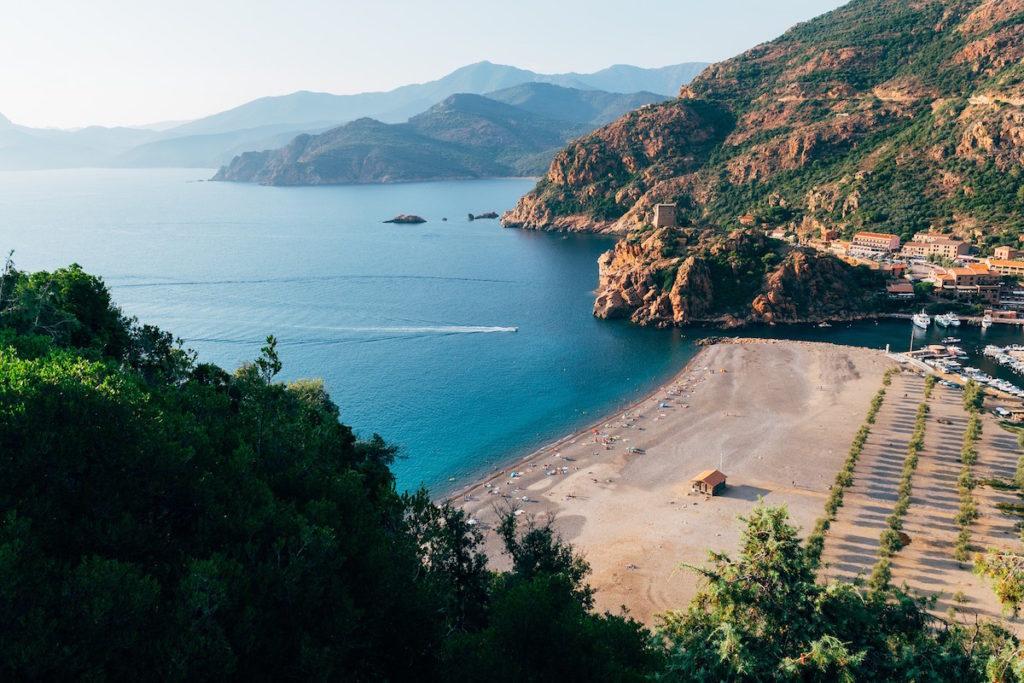 Corsica Pexels wetskust