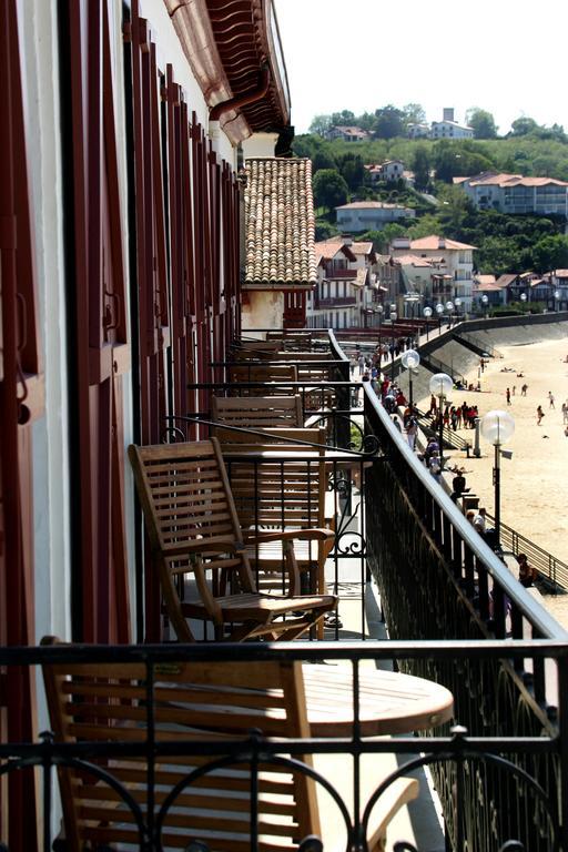 Balkon Hotel de la Plage Saint-Jean de Luz