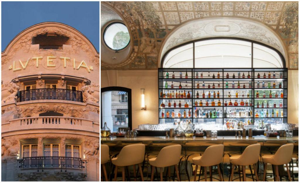 Nieuwe hotelbar Lutetia in Parijs