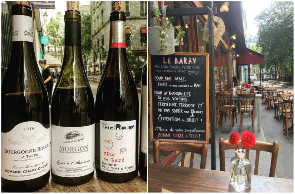 Le Barav wijnbar République