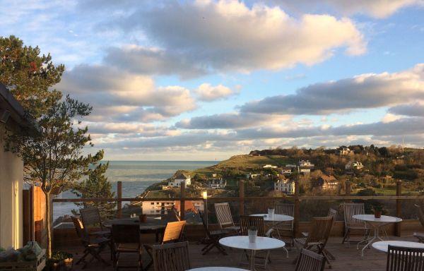 Hotel Dieppe uitzicht op zee