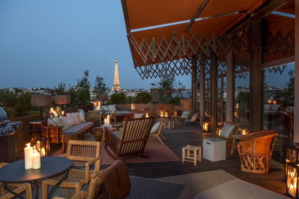hotel Philippe Starck Parijs