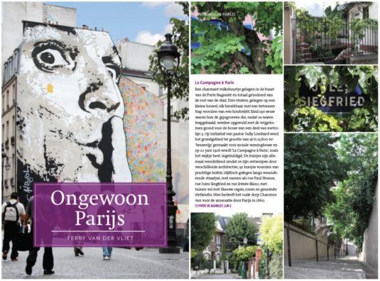 Cover en impressie Ongewoon Parijs