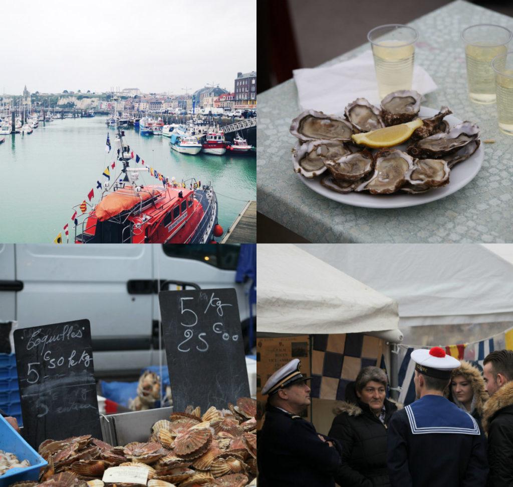 Dieppe Normandie haringfeest