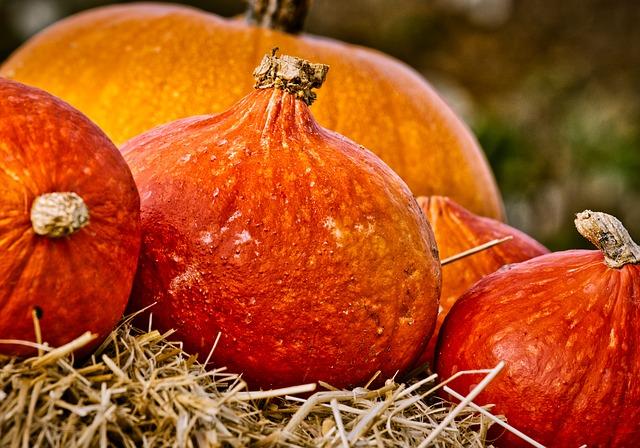 pompoenen herfst Franse markt