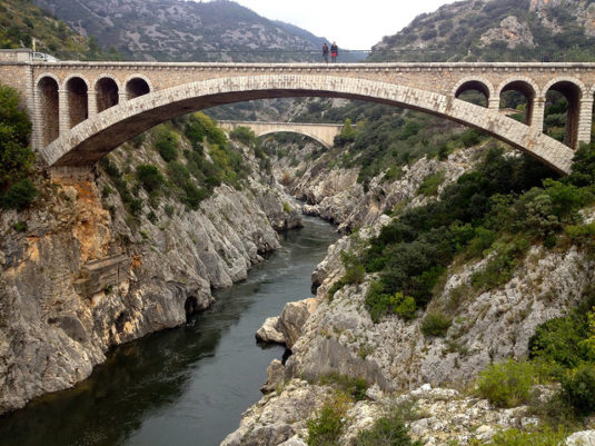 Pont du Diable in Aniane