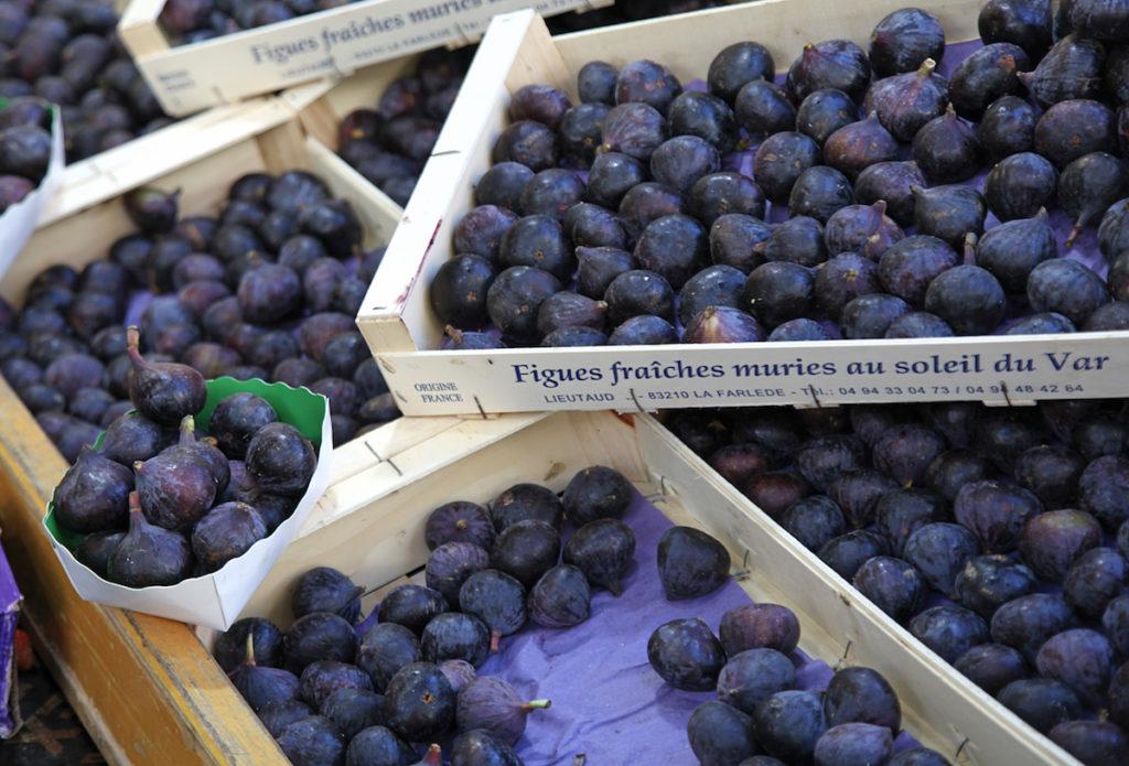 vijgen seizoensproducten herfst Franse markt