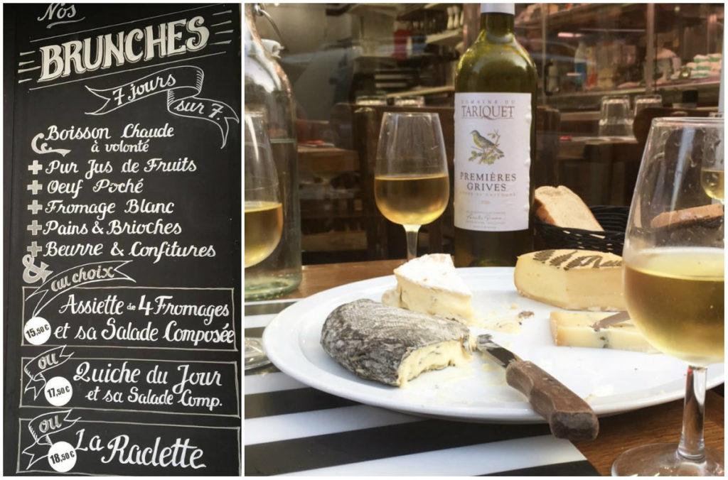 kaasbar en kaaswinkel in Parijs