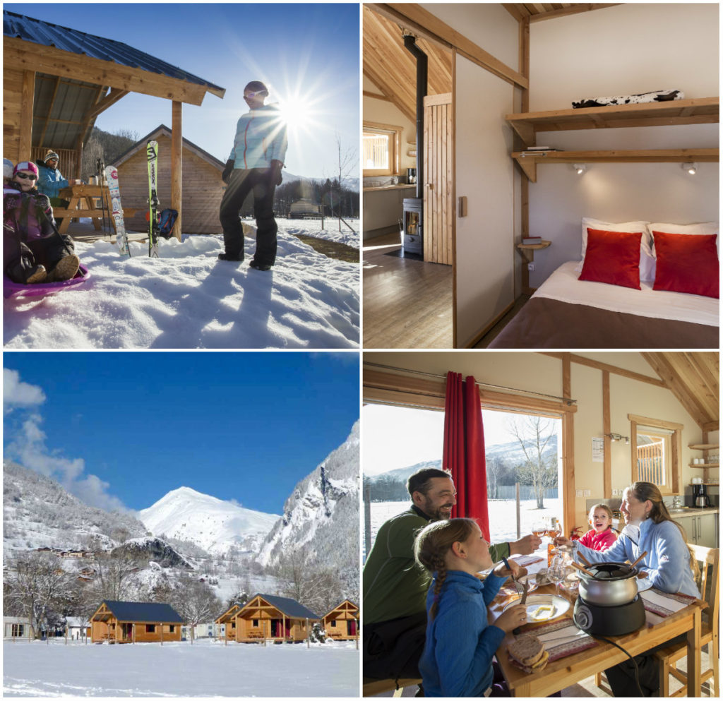 Huttopia Bourg St Maurice Glamping