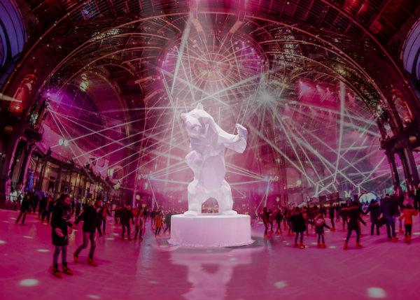 Schaatsen in het Grand Palais