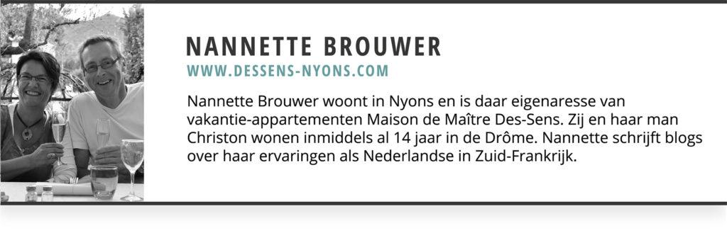 Onderschrift Nannette Brouwer