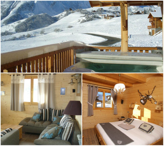 12 pers chalet Reflet Aiguille in Les Sybelles
