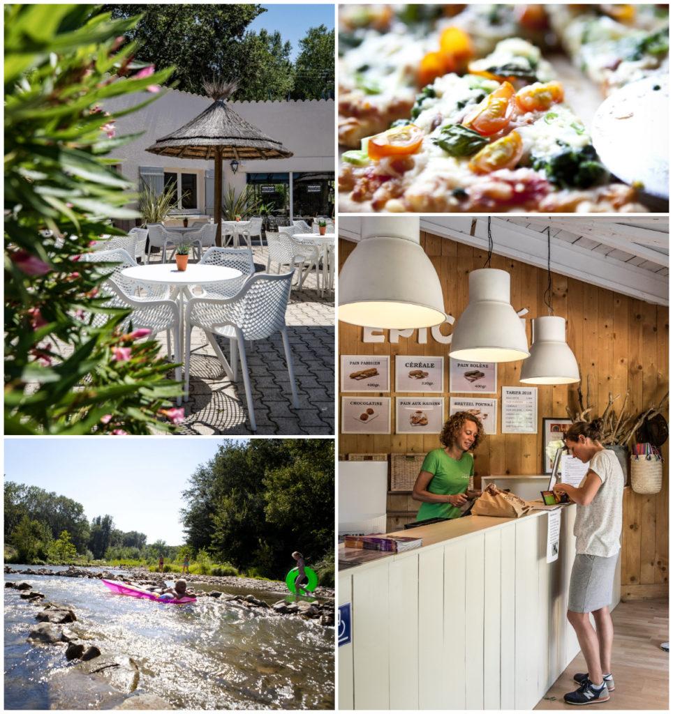 vijfsterren camping Provence Languedoc Occitanie